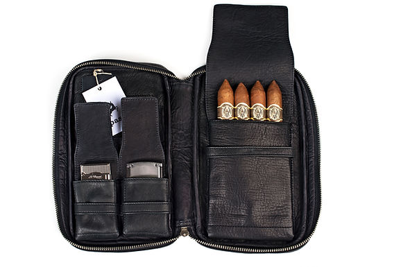 ilpasio Zigarrenetui negro - Zigarrenetui schwarz