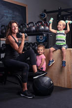 Mommy and me fitness, postpartum fitness, stroller workout, mommy and me