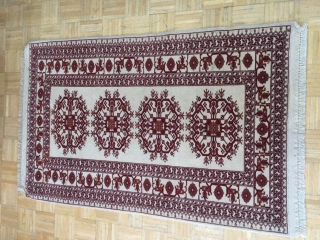 120 - 3.3 x 5.6 - Turkman - Wool - Iran.