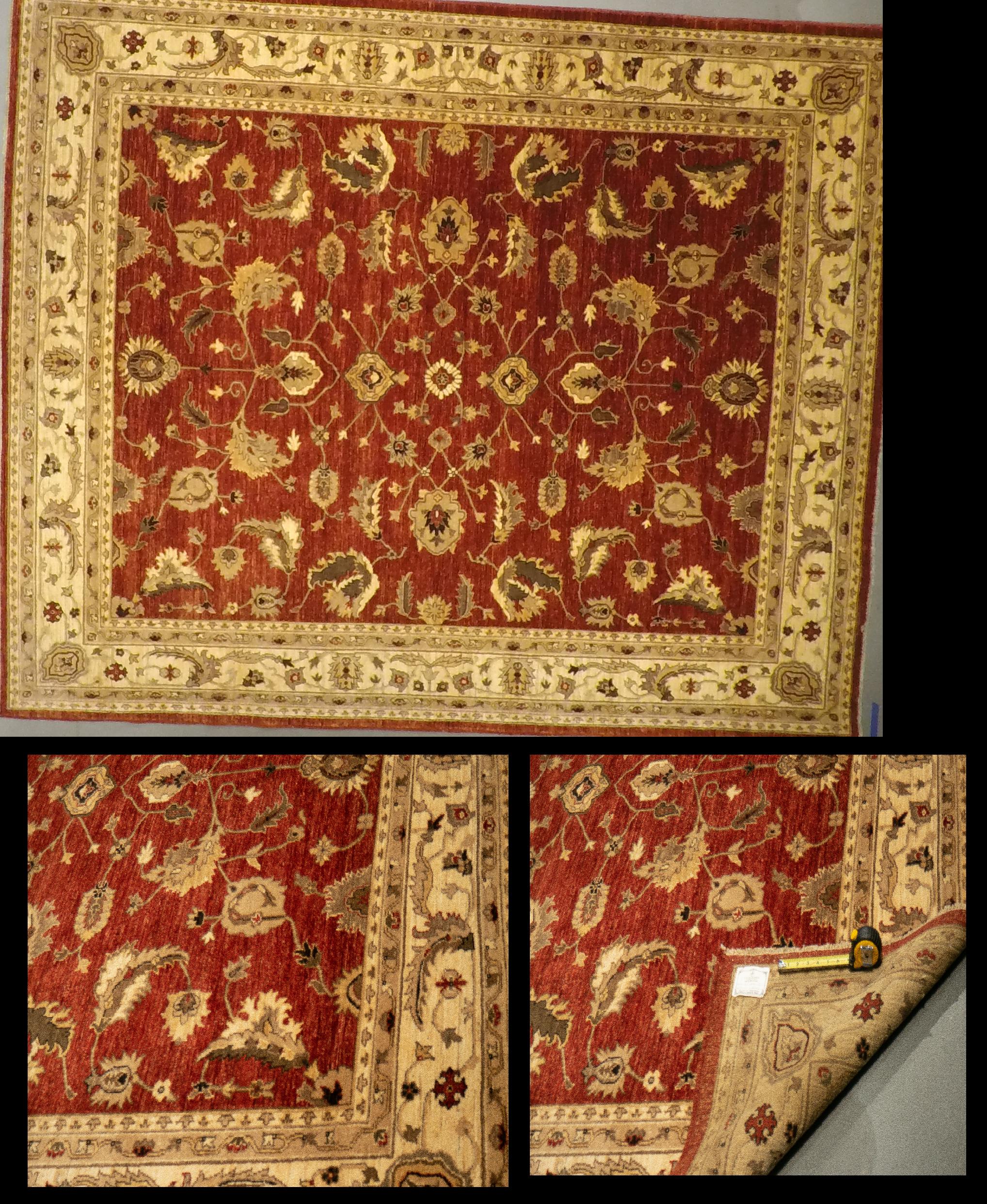 LD48 3712 (8.3 x 9) Wool-Handmade