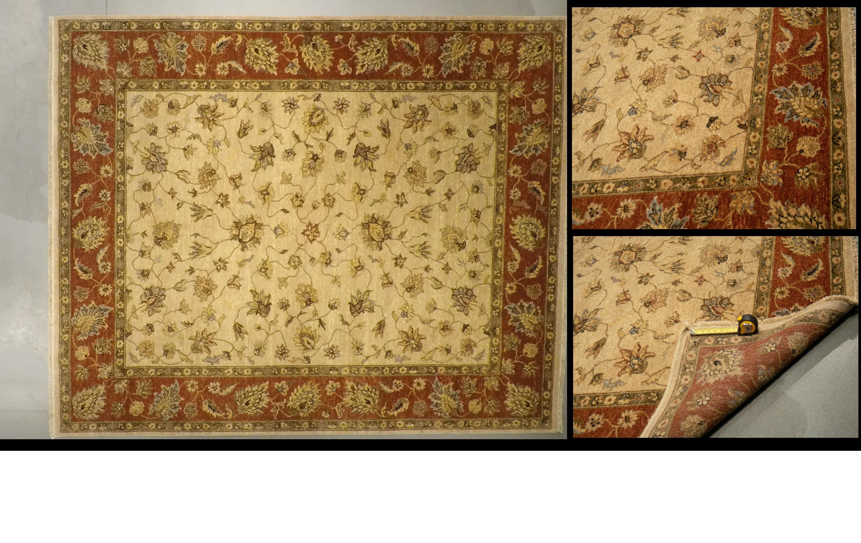 LD 58 3714 (7.10 x 9.6) Wool-Handmad