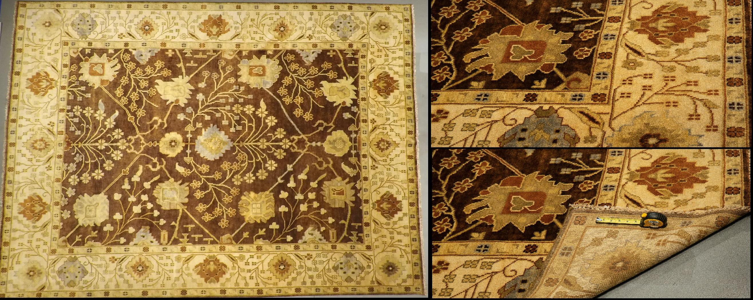 LD6 3654 9.5 x 11.10 Wool-Handmade