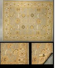 LD44 3720 (7.11 x 9) Wool-Handmade