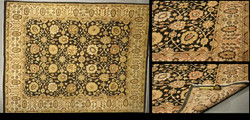 LD 64 3693 (7.5 x 9.5) Wool-Handmade