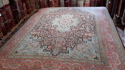 Unique aged rug Large Persian