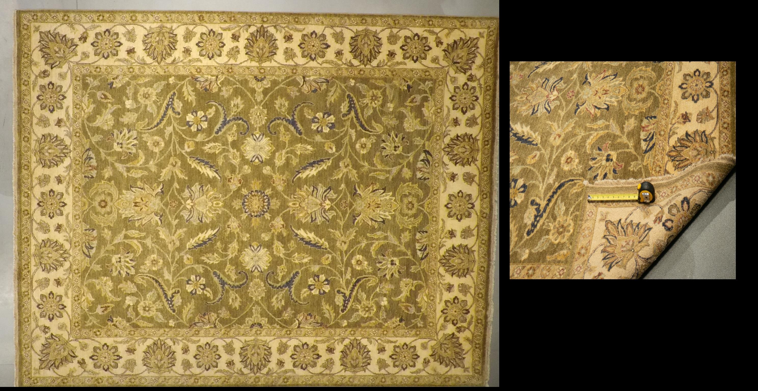 LD54 3717 (8 x 10) Wool-Handmade