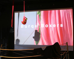 Burqa Boxers, Locarno Art Exhibition