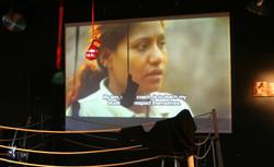 Video at the Locarno Art Exhibition.