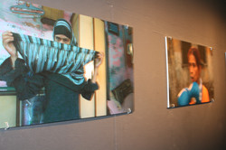 Photography at the Art Exhibition.