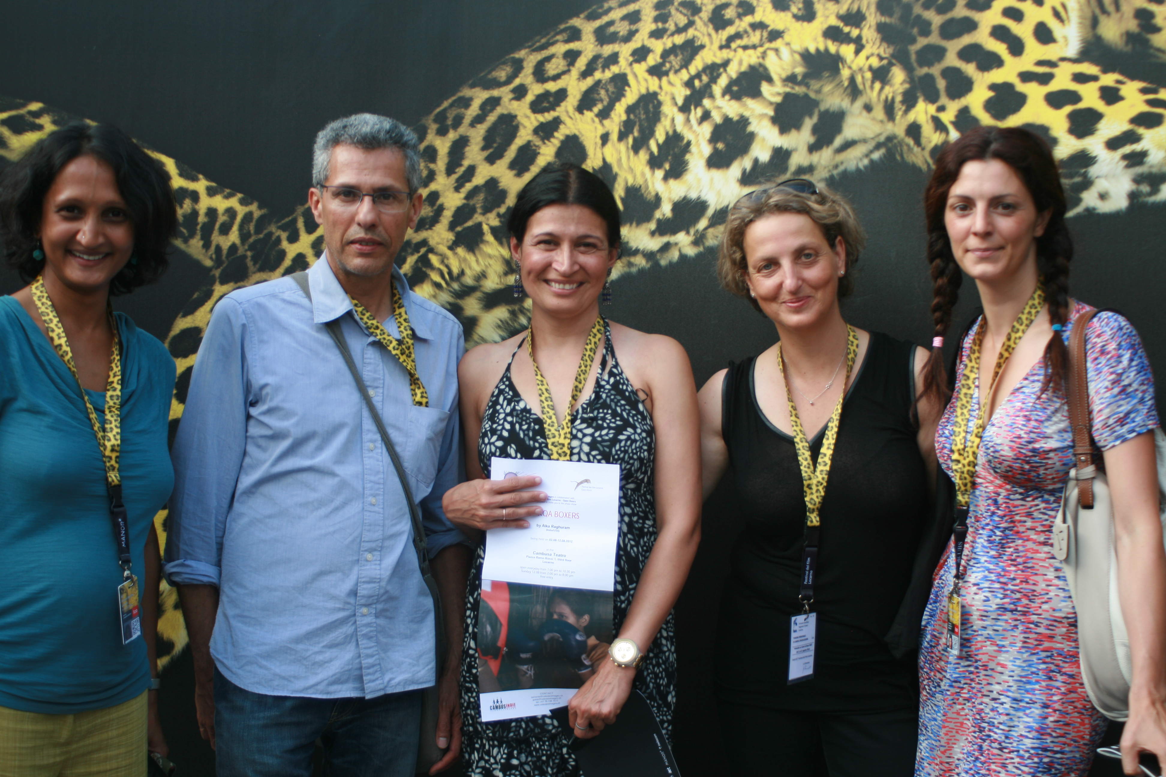 24 Images, Alka, Celeste Image at Locarno.