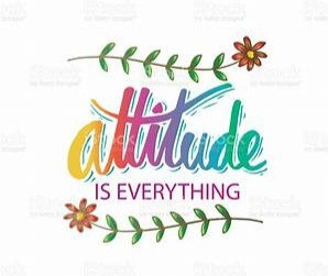 The most effective attitude to adopt is one of supreme acceptance.