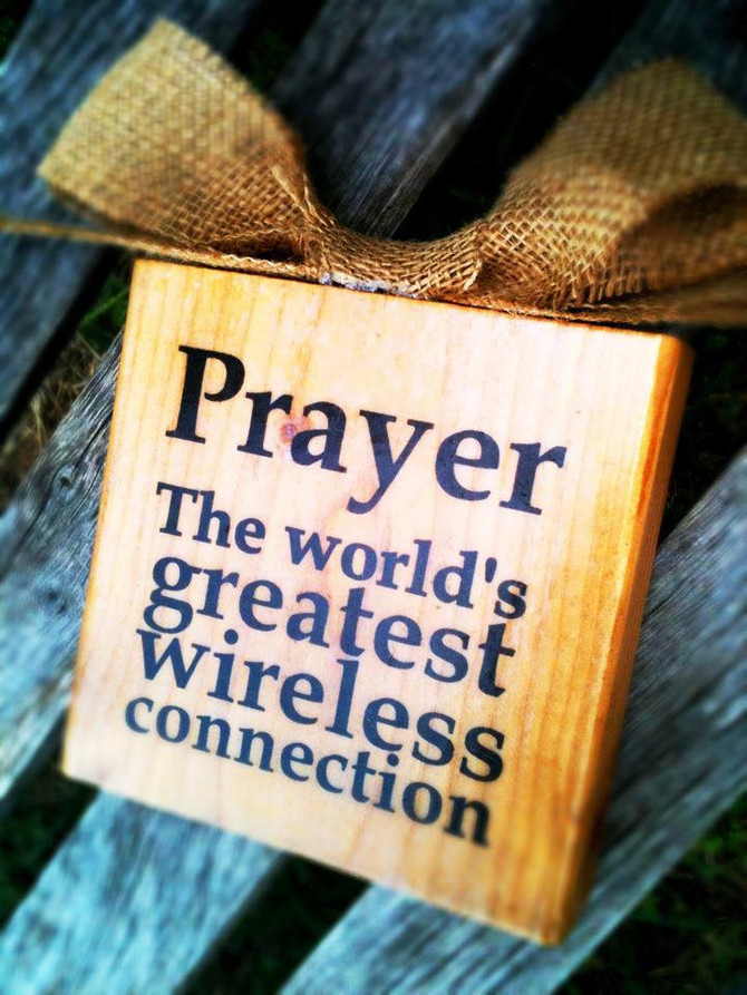 Prayer the World Greatest Wireless Connection
