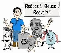 THE THREE R'S: RECYCLE, REDUCE, REUSE
