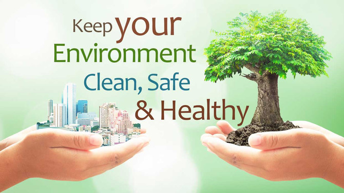 LET'S MAKE OUR WORLD A GREENER PLACE