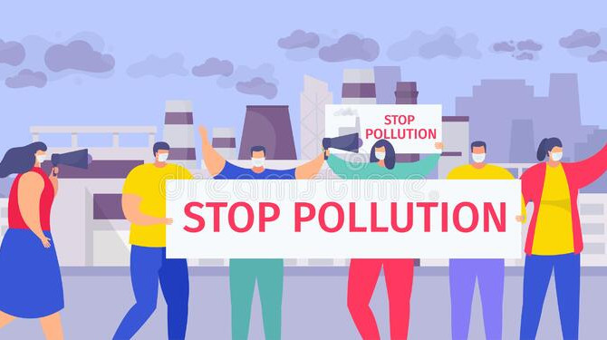 THE ONLY SOLUTION TO POLLUTION IS A PEOPLE'S HUMANE REVOLUTION!