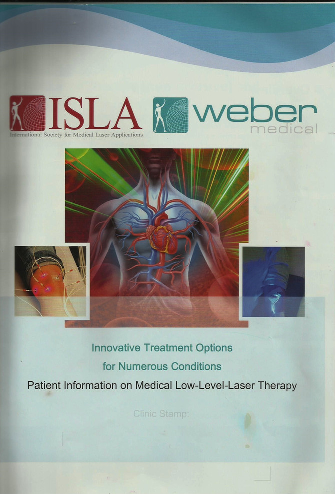 WHAT IS MEDICAL LOW-LEVEL-LASER THERAPY?