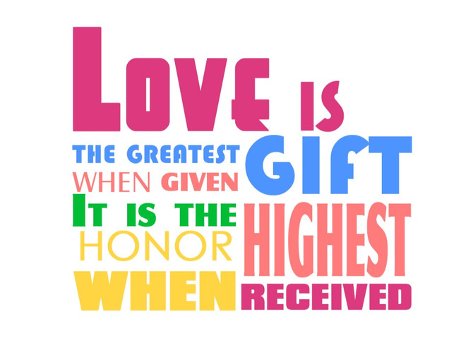 Unconditional Love Is the Greatest Gift of All