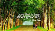 A heart in love with beauty never grows old.