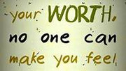 Know your worth. Embrace that you are worthy of receiving that great blessing in your life!