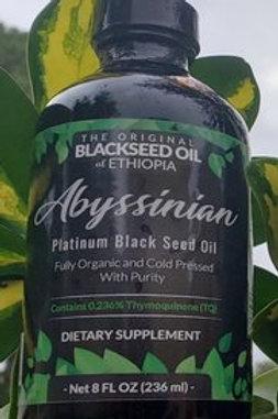 Abyssinian Platinum Blackseed Oil 8oz