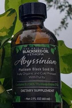 Abyssinian platinum Blackseed Oil 2oz