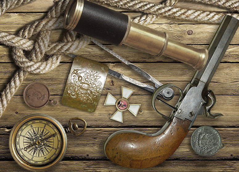 Wild West Vintage Objects