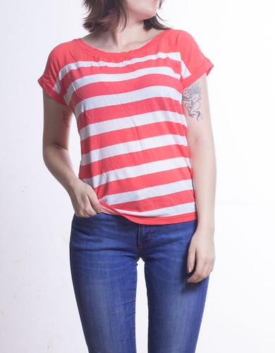 adc583f1ff142 Aereopostale Camiseta Rosado S