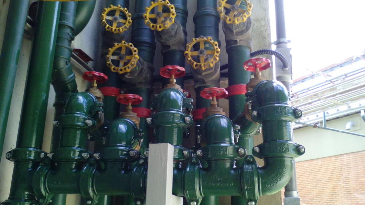 Rede de distribuição de Água Potável