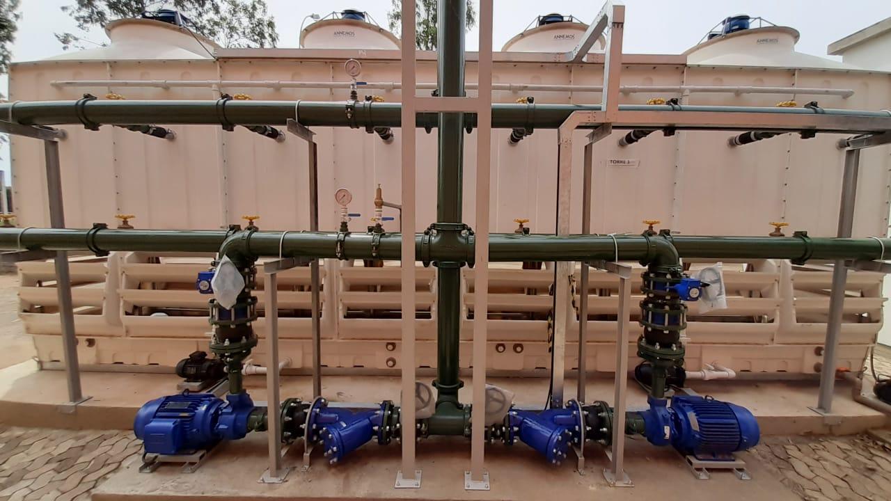 Central de Água de Resfriamento