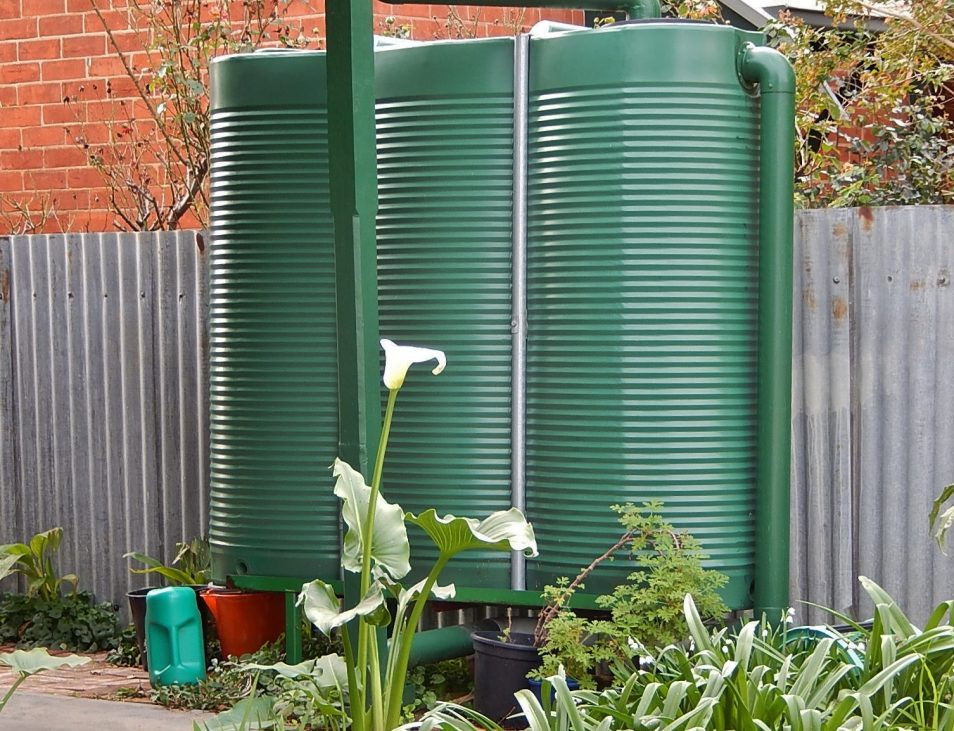 rainwater tank, gympie plumber