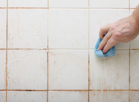 Refresh your bathroom grout