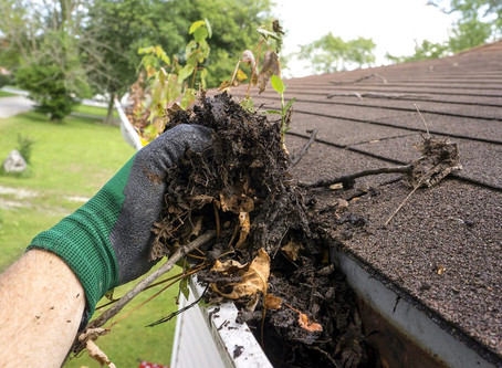 How Gutter Cleaning can save you thousands!