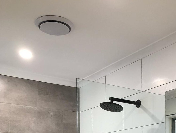 Install an exhaust fan to prevent mould in the bathroom