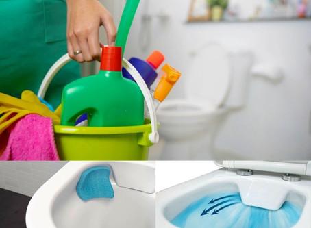 New toilet design to improve bathroom hygiene