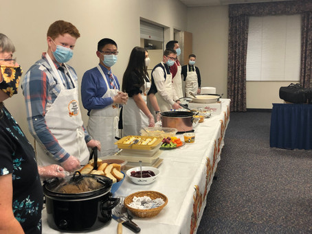 The Tradition Continues: BHBC Thanksgiving Dinner 2020