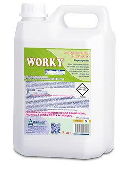 Detergente Limpeza Pesada Worky 5L