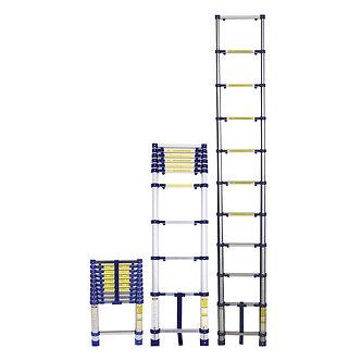 Escada Telescópica Alumínio 10 Degraus