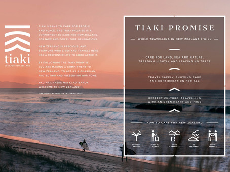 TIAKI PROMISE - We care about New Zealand
