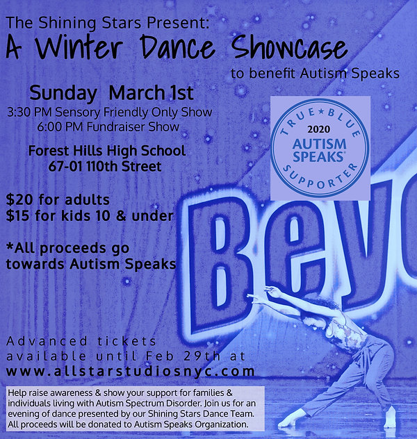 2020 Winter Showcase  Fundraiser Show#2.