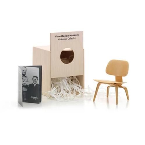 Miniature Eames LCW Lounge Chair