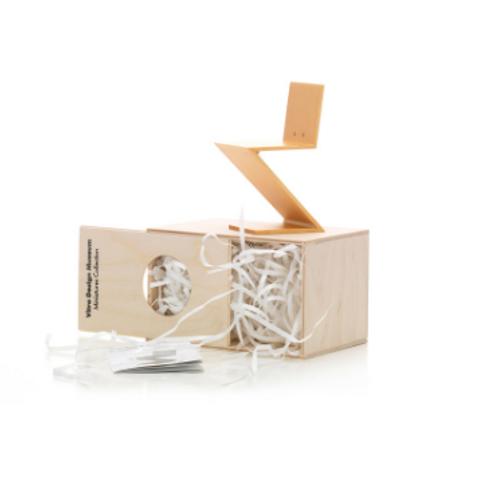 Miniature Zig Zag Stoel  Gerrit Rietveld