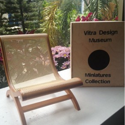 Luis Baragán Butaca Chair Miniature