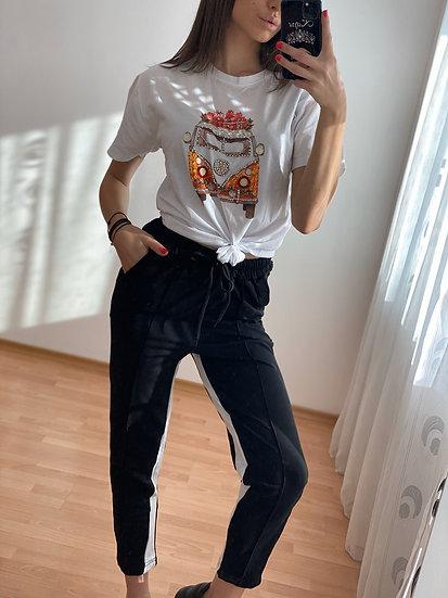 Black and White Комплект Блузка и Панталон