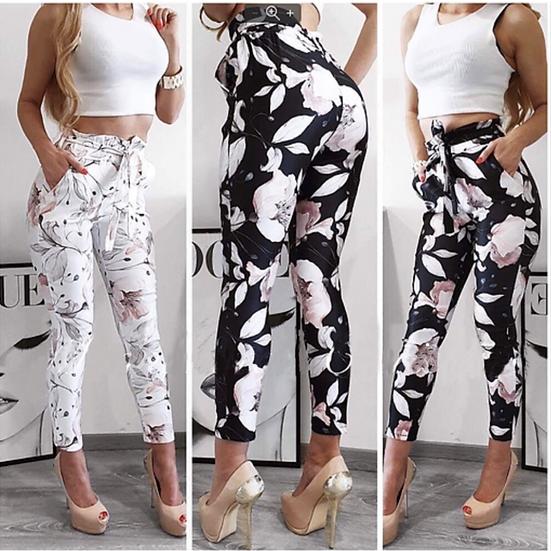 Флорални панталони
