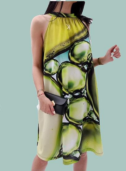 Къса рокля Bubbles