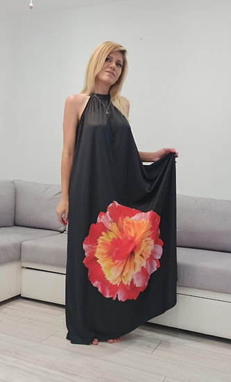 Дълга рокля Floral