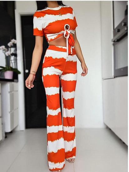 Комплект блуза с панталон