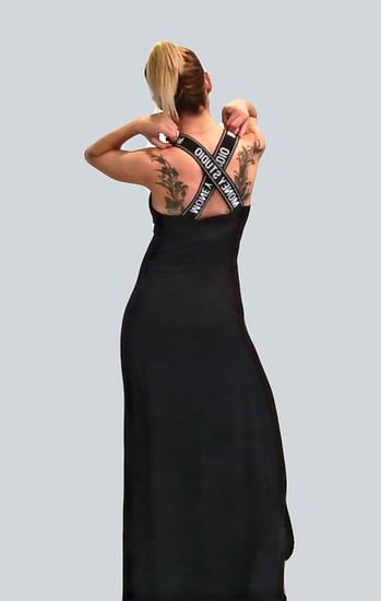 Дълга рокля Money Studio