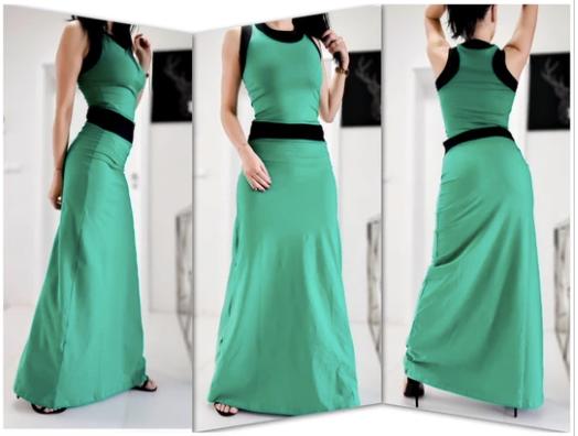 Maxi рокля