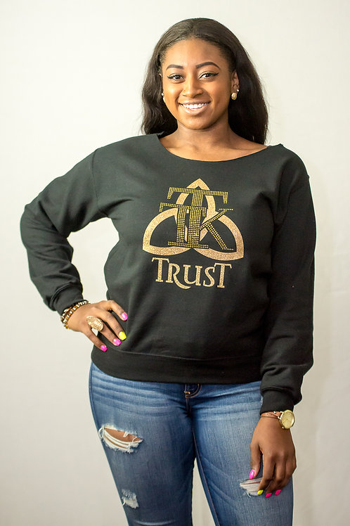 TRUST Scoop Neck Sweat Shirt (item #71)